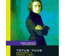 Totus Tuus. Franz Liszt