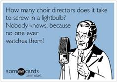 how many choir directors