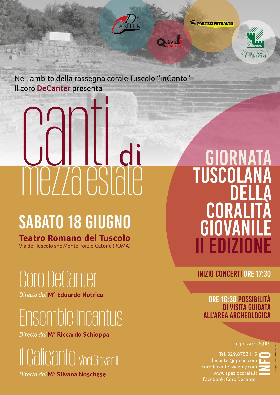 Canti di Mezza Estate al Teatro Romano di Monte Tuscolo