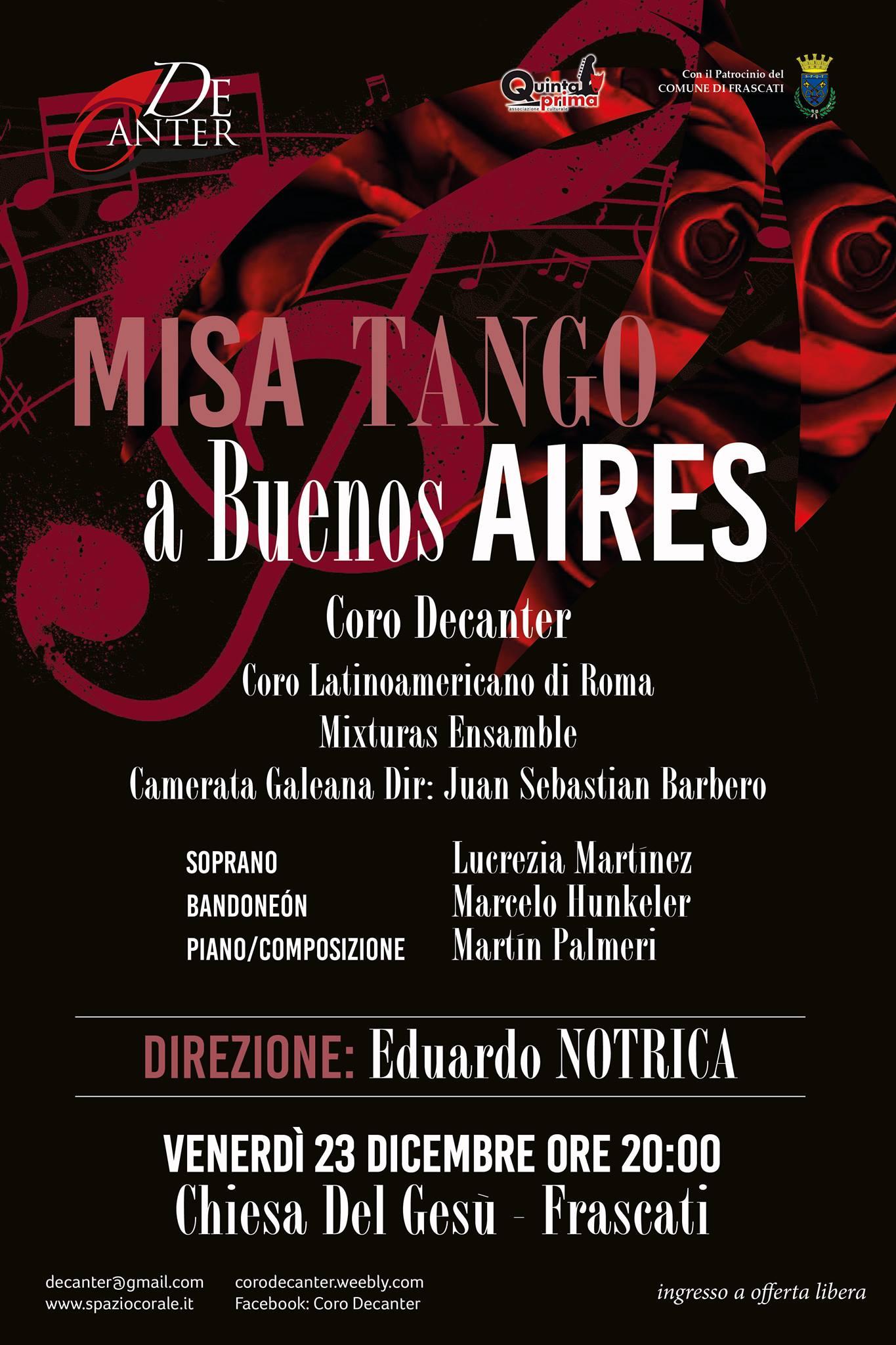 Misa tango - Martin Palmeri