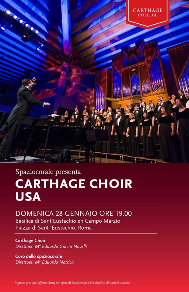 I cori dello spaziocorale presentano il Carthage Choir(USA)