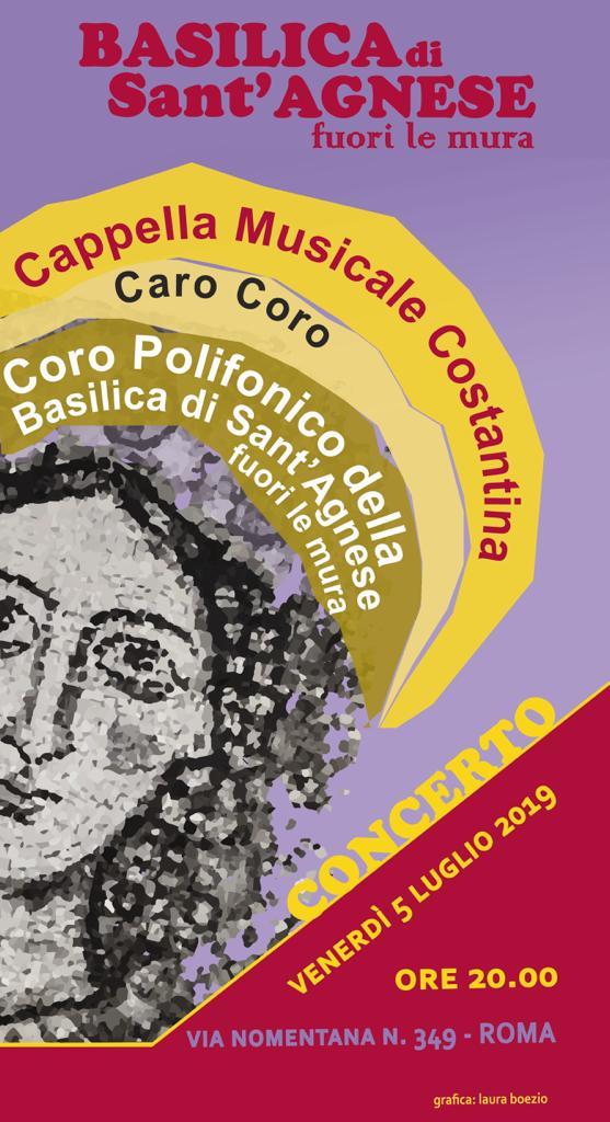 Concerto di Beneficenza a Sant'Agnese